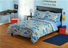 Your Zone Transportation Bed In A Bag Kids Twin Bed Set