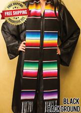 "MEXICAN SERAPE GRADUATION STOLE SASH 85"" Length"