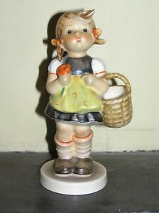 "Goebel Hummel 'Sister' 5 1/2"" tall girl figurine TMK 3 from 1960's"