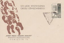 Poland postmark OSWIECIM - AUSCHWITZ-BIRKENAU concentration camp (analogous)