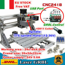【IT】3 Axis 2418 USB DIY Mini Laser Machine GRBL Pcb Milling CNC Wood Router ER11