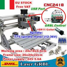 【IT】2418 3 Axis USB DIY Mini Laser Machine GRBL Pcb Milling CNC Wood Router ER11
