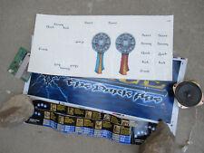 """Mace the dark age 26 3/4- 11 1/2"""" arcade game sign marquee + Sticker Set fnz"""