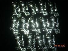Wholesale Lot # 258 Hogs with Guitar Pewter Charm As Pendant Earring Key Chain