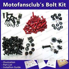 For Yamaha R1 2004-2006 04 05 06 Complete Full Fairing Bolt Kit Red GM