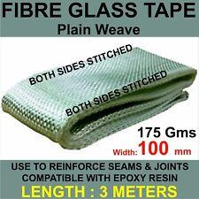 GLASS FIBRE / FIBRE GLASS TAPE WIDTH 100mm x 3 METERS