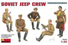 Miniart 35049 1/35 Soviet Jeep Crew