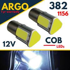 VW Passat B7 Led White 2010-2014 DRL Xenon Light Super Bright Cob Bulbs Fits 12v