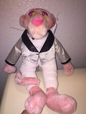 "Pink Panther Plush Stuffed Animal All Kelly Toy 1999 Preowned 19"" For redress"