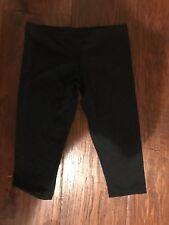 Bloch Black Capri Dance Pants in Girls Size 8/10