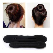 2pcs Haarschmuck Haarknoten Dutt Donut Knotenkissen Duttkissen Haar Styling Gift