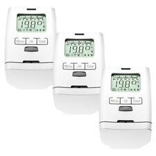 3 Pièces Électronique Thermostat de Radiateur Soupape HT 2000