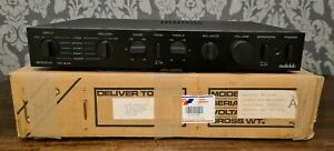 AUDIOLAB 8000A INTEGRATED AMPLIFIER WITH MM MC PHONO STAGE & BOX Exc CONDITION