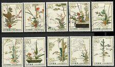 C2115 Japan  2012 floral art 550 years used