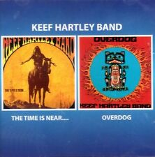 """Keef Hartley Band:  """"The Time Is Near / Overdog""""  (2on1 CD Reissue)"""