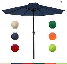 Le Conte 9Ft Patio Umbrella Outdoor Market Umbrella Table Umbrellas With Push Bu