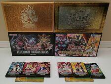 Yugioh Legendary Deck Lot: Yugi's Decks, Joey Kaiba II, Dragon, Hero 1st Edition