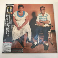 Ella Fitzgerald And Louis Armstrong Ella And Louis IMPORT UCJU-9073 OBI 200 Gram