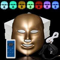 7-Couleur Machine Photon LED Masque Rajeunissement Soin de Peau Visage Beauté
