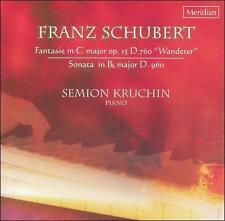 Schubert: Fantasie D760 & D960, New Music