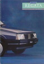 Fiat Regata 70 85 100ie Comfort Super Turbo DS Weekend 1987-89 UK Brochure
