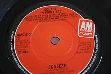 "SQUEEZE, Labeled With Love UK 7"" single AMS8166, Difford & Tilbrook, Squeeze, NM"