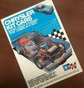 Rare Chrysler Kit Car Selling Pamphlet from 1974.