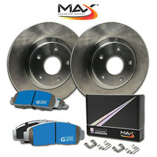 1996 Honda Civic DX/LX Sdn w/o ABS OE Replacement Rotors M1 Ceramic Pads F