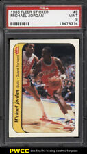 1986 Fleer Sticker Michael Jordan ROOKIE RC #8 PSA 9 MINT (PWCC)