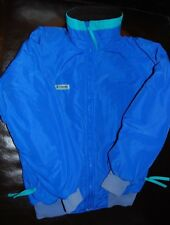 Vintage 90s Columbia Fleece Lined Ski Jacket Small Blue Retro Coat Snowboarding