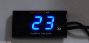 Digital Water Temperature Gauge Kit For Honda CB500 94-03 Track & Race Bike
