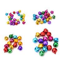 100X/Set Small Jingle Bells Colorful Loose Beads Decoration Pendant DIY Craft