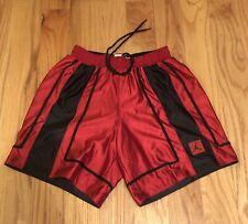 New Vintage Usa 90s Nike Reversible Air Jordan Basketball Shorts Teen M 10-12