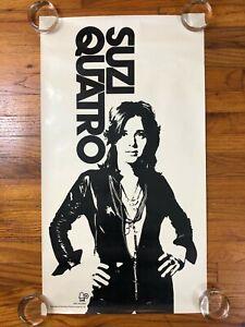 Suzi Quatro ~ Original Bell Records Promo Poster