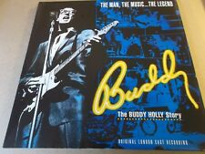 BUDDY HOLLY,THE BUDDY HOLLY STORY,DOUBLE LP ON FIRST NIGHT,QUEUE 1-1,1990+INSERT