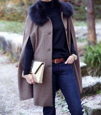 Zara Wool Checked Coats & Jackets for Women