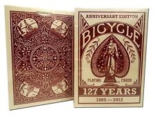 Bicycle 127th Limited Edition Playing Cards Celebrating 1885 - 2012 Rare Deck