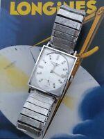 Beautiful 1960s LONGINES 370 cal L8474 Swiss Made 17 Jewels Wind Up Wrist Watch