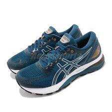Asics Gel-Nimbus 21 4E Extra Wide Mako Blue Black Mens Running Shoes 1011A168402