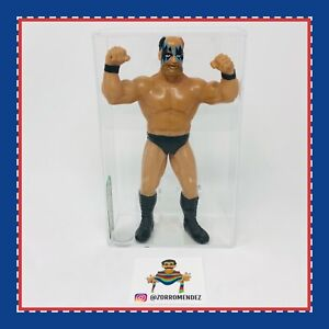 "WWF LJN GRAND TOYS WRESTLING SUPERSTARS WARLORD LOOSE 8"" AFA GRADED 80 WWE RARE"