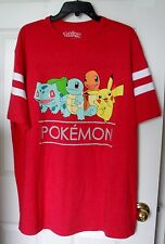 Pokemon Nintendo Short Sleeve Shirt Size XLT