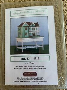 North Eastern  1/144th scale Gingerbread Mansion Table Kit TBL-13 1119