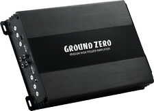 Amplificatore Ground Zero 4 canali GZIA 4115HPX-II  500 watt AUTOON  high lev in