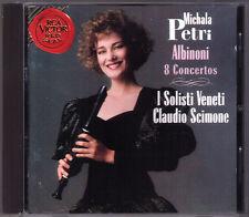 Michala PETRI: ALBINONI 8 Recorder Concerto I SOLISTI VENETI Claudio SCIMONE CD