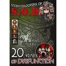 S.O.D. - 20 Years Of Dysfunction DVD