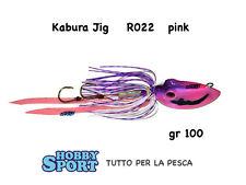 KABURA JIG  R022 COLOR PINKY GR 100 PESCA MARE BARCA