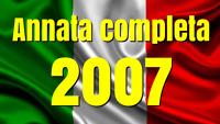 2007  ANNATA COMPLETA N° 72 TESSERE FILATELICHE INTROVABILI
