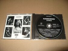 Hawkwind Zones 10 Track cd 1992 Mint Condition