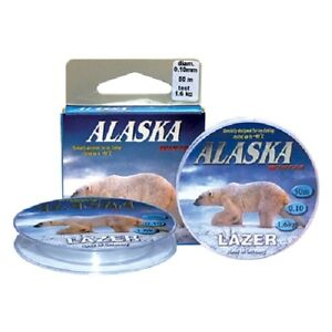 Lazer Alaska  Fishing Line Tested to - 40 C Specialized Line Under Ice Fishing
