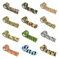 Waterproof Outdoor Camo Hiking Camping Hunting Camouflage Stealth Tape Wraps
